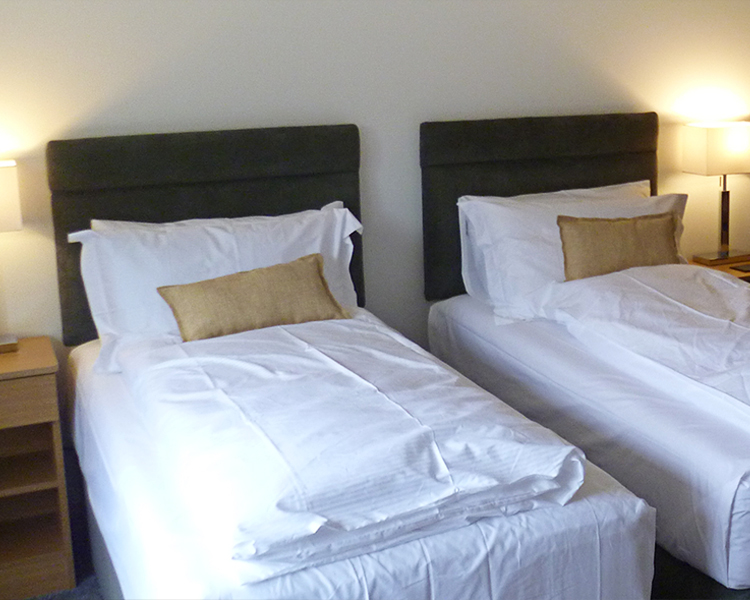 Room Three - All bedroom accommodation is spacious, en-suite shower-room and tastefully decorated to a high standard.